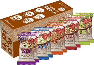 Amano Foods Freeze-Dried Miso Soup 10 Servings (5x2)