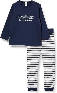 Sanetta Schlafanzug Nordic Blue Ensemble de Pijama Bébé garçon