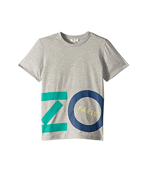 Kenzo Kids Colored Logo Tee (Big Kids)