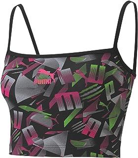 PUMA Women's Sport Bralette AOP Crop Top