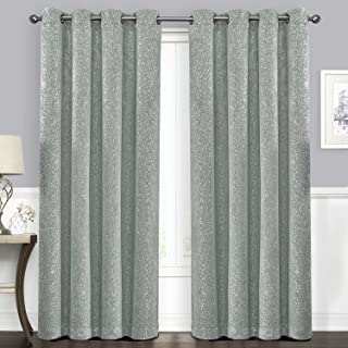 Best silver grey blackout eyelet curtains Reviews