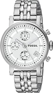Fossil Original Boyfriend for Women - Casual Stainless Steel Band Watch - ES2198P