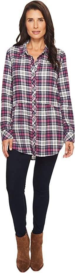 Mod-o-doc - Thistle Long Sleeve Flannel Shirt with Front Pockets