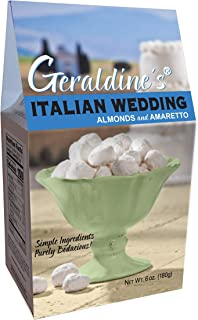 Geraldine's Italian Wedding Cookies, 6 oz (Pack of 6)