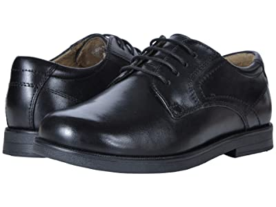 Florsheim Kids Midtown Plain Ox, Jr. (Toddler/Little Kid/Big Kid) (Black) Boys Shoes