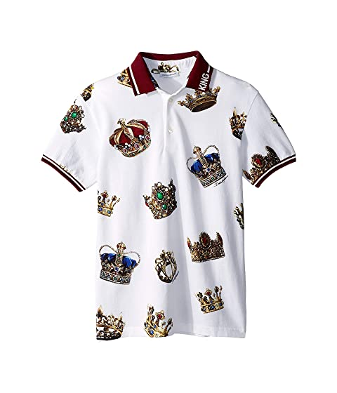Dolce & Gabbana Kids D&G Kings T-Shirt (Big Kids)