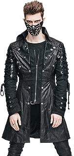 HaoLin Steampunk Coat Gothic Clothing Victorian Cyberpunk Punk Jacket Renaissance Costume