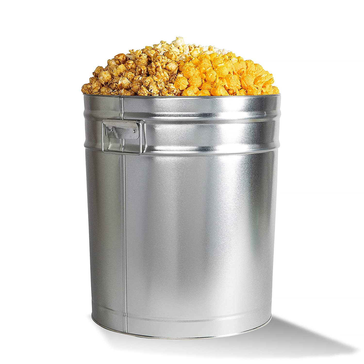 City Pop Don't miss the Quality inspection campaign 6.5 Popcorn Gallon Tin