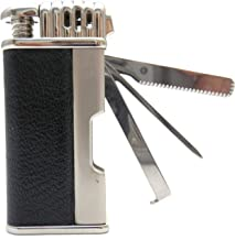 Mr. Brog Leather Tobacco Pipe Lighter and Czech Tool – All in One – Model..