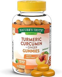Nature's Truth Turmeric & Ginger 70 Vegan Gummies, 70 Count