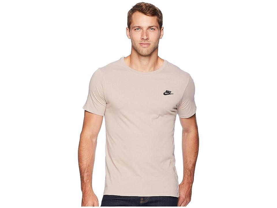 Nike NSW Tee Club Embroided Futura (Diffused Taupe/Black) Men