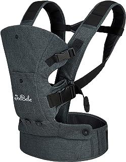 JooBebe Babytrage Ergonomisch/Babytrage Neugeborene/Baby Carrier/Bauchtrage Ergonomisch 360 for All Seasons für Neugeborene & Kleinkinder 3,6-15 kg