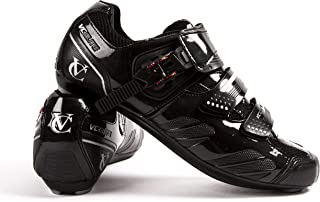 VeloChampion Elite Road Cycling Shoes with Ratchet Closure - Easy Clean with Free Storage Bag (pair)