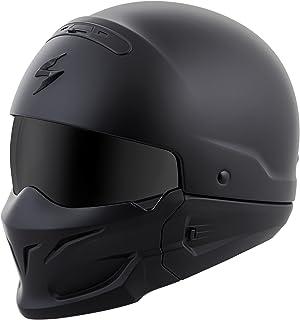 Scorpion EXO Covert Solid Helmet Matte Black (Black, XX-Large)