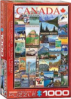 EuroGraphics Travel Canada Vintage Ads Puzzle (1000 Piece) (6000-0778)