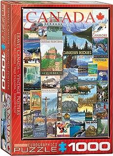 EuroGraphics Travel Canada Vintage Ads Puzzle (1000 Piece)