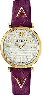 ساعة فيرزاتشي للسيدات بسوار من الجلد كاجوال - VELS00519