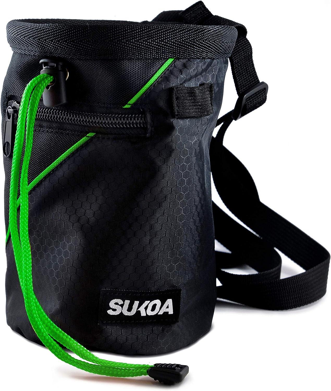 Ranking TOP18 Sukoa Chalk Bag Max 49% OFF for Rock Bouldering - Climbing Bucket