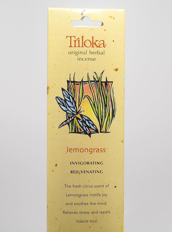 Triloka, Incense Lemongrass, 10 Count