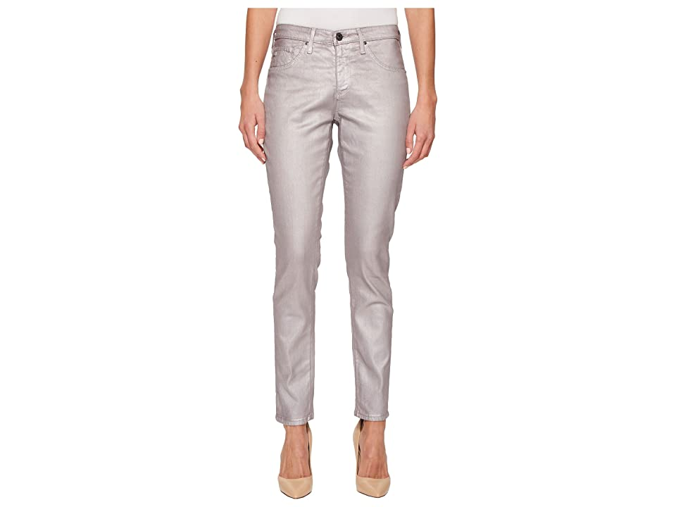 AG Adriano Goldschmied Legging Ankle in Metalized Powder Pink (Metalized Powder Pink) Women's Jeans