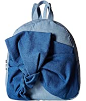 Stella McCartney Kids - Blair Denim Backpack w/ Bow
