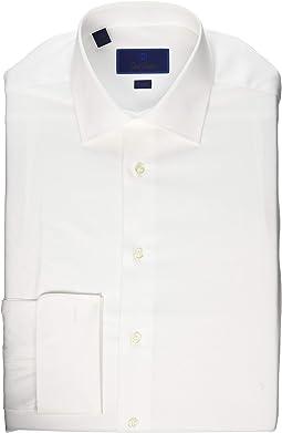 Trim Fit Micro Birdseye Dress Shirt