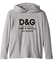 Dolce & Gabbana Kids - Kings Hoodie (Big Kids)