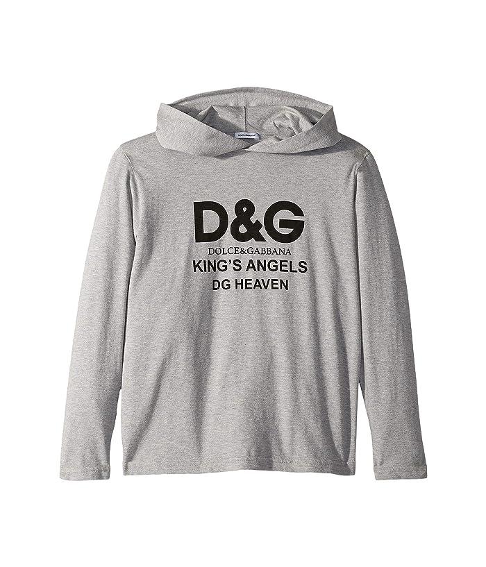 Kings Hoodie (Big Kids) Grey Melange