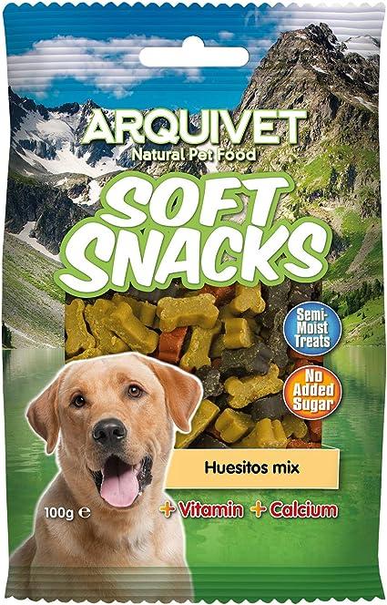 Arquivet Soft Snacks para Perro Huesitos Mix 100 g