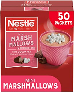 Nestle Hot Cocoa Mix, Rich Chocolate with Mini Marshmallows, 0.71-Ounce Packages, 50 Count