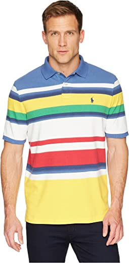 CP-93 Striped Pique Polo