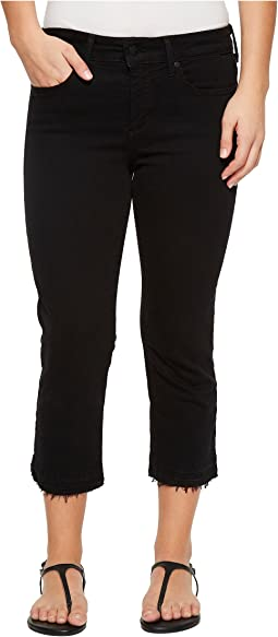 NYDJ Petite - Petite Capris w/ Released Hem in Black