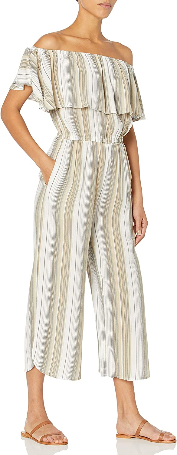 Tribal Women's On Off Safety and trust Jumpsuit Shoulder Popular