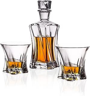 Bohemia Crystal Whiskey Set