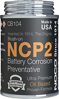 Best NOCO NCP2 CB104 4 Oz Oil-Based Brush-On Battery Corrosion Preventative, Corrosion Inhibitor, And Battery Terminal Grease Review