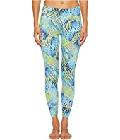 Letarte - Blue Palm Leggings