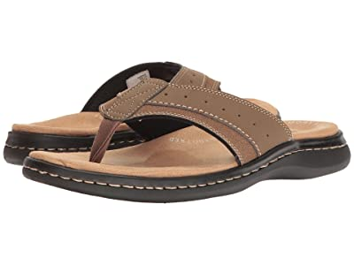 Dockers Laguna Thong Sandal (Dark Tan) Men