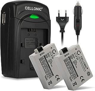 Premium Bater/ía LP-E5 para Canon EOS 1000D 450D 500D Rebel T1i XS Xsi y mucho m/ás PATONA 3en1 Cargador