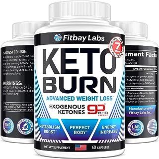BHB Keto Pills - Exogenous Ketones Supplement - Keto Weight Loss Pills for Women & Men - Made in The USA - Go BHB Keto Diet Pills - Keto BHB Capsules for Weight Loss - Advanced Keto Fast Diet Pills