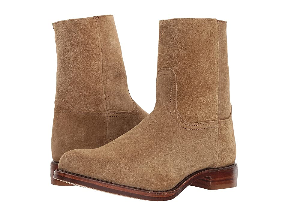Frye Campus Inside Zip (Sand Soft Oiled Suede) Men
