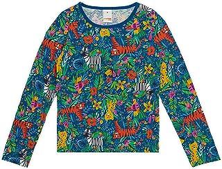 Blusa meia malha estampada, Marisol Play, Meninas