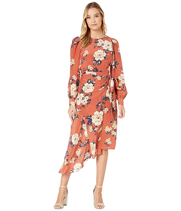 Old Fashioned Dresses | Old Dress Styles Yumi Kim Leanna Dress Honest Rose Rust Womens Dress $136.85 AT vintagedancer.com