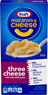 Kraft Three Cheese Macaroni & Cheese Dinner (7.25 oz Box)