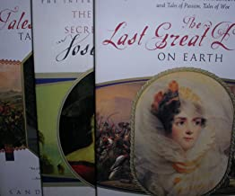 Author Sandra Gulland Three Book Bundle Includes: The Last Great Dance On Earth - The Many Lives & Secret Sorrows Of Josep...