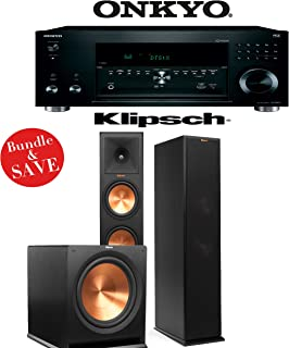 Onkyo TX-RZ810 7.2-Channel Network A/V Receiver + Klipsch RP-280F + Klipsch R-115SW - 2.1 Reference Premiere Home Theater Package