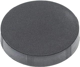 vhbw Front Lens Cap Cover compatibel met 39mm verrekijker lenzen, monoculaire lens - Snap-On, zwart