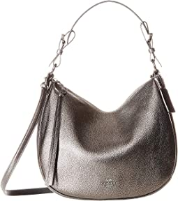 Metallic Leather Sutton Hobo