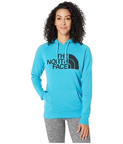 The North Face Half Dome Pullover Hoodie (Barrier Reef Blue/TNF Black) Women