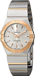 Women's 123.20.27.60.02.001 Constellation Stainless Steel and 18k Gold Dress Watch
