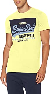 Superdry Men's Vl O Tee Casual Shirt